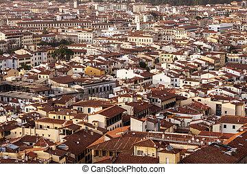 佛罗伦萨, 空中的观点