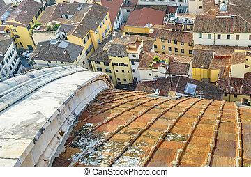 佛罗伦萨, 空中, cityscape