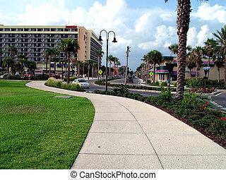 佛羅里達, 人行道