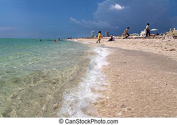 佛羅里達, 從, 海洋