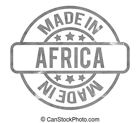 作られた, 中に, アフリカ