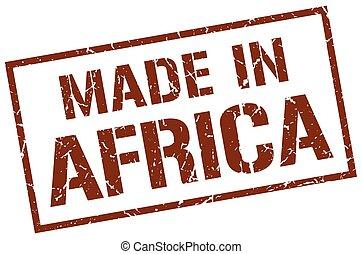作られた, 中に, アフリカ, 切手