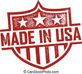 作られた, 中に, アメリカ, 切手