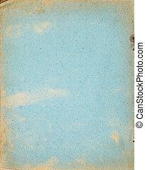 作られた, 古い, copybook, カバー, リサイクルされる, ペーパー, ページ