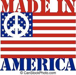 作られた, 平和, アメリカ