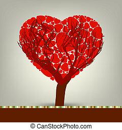 作られた, 愛, 木, eps, 定型, hearts., 8