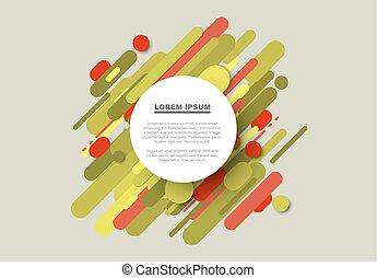 作られた, 色, 大きい, 抽象的, ライン, ベクトル, 背景