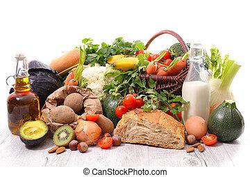 作品, 由于, 健康, 以及, 飲食食物