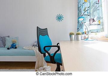 作成する, デザイン, 考え, きれいにしなさい, スペース