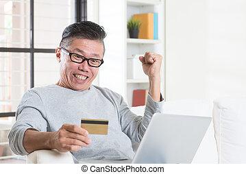 作成, オンラインで, 勝利, 支払い, 賞
