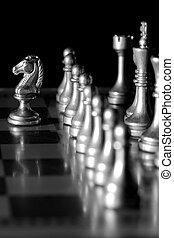作戦, ゲーム, チェス小片, 遊び, 板