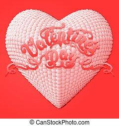 作曲された, 心, 容積測定, card., 贈り物, バレンタイン, パール, 上に, ∥あるいは∥, 優雅である, ベクトル, デザイン, バックグラウンド。, 招待, 売りに出しなさい, 影, あなた, 小さい, 柔らかい, 日, 赤