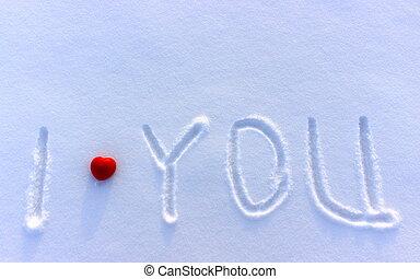 你, 愛, 雪
