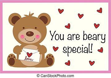 你, beary, 特别, valentine