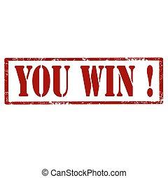 你, win!-stamp