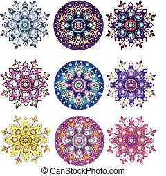 佩兹利涡旋纹花呢, ornament., 印度, seamless