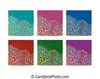 佩斯利螺旋花紋呢, 廣場, 記號