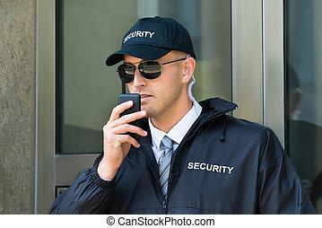 使うこと, セキュリティー, ウォーキートーキー, ラジオ, 監視