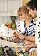 使うこと, 恋人, 料理の本, 若い