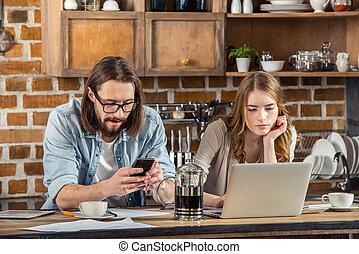 使うこと, 恋人, 装置, デジタル