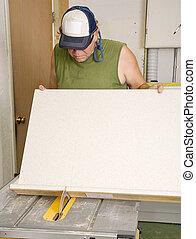 使うこと, 鋸, 大工, テーブル