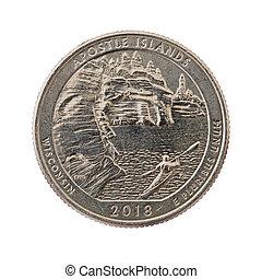 使徒, 四分の一, 島, コイン, 記念する