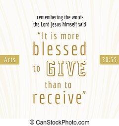 使用, 聖書, ポスター, 弾力性, 受け取りなさい, 引用, 行為, それ, ∥あるいは∥, 印刷, blesses...