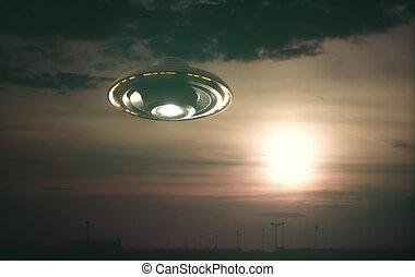 來路不明的飛行的物件, ufo