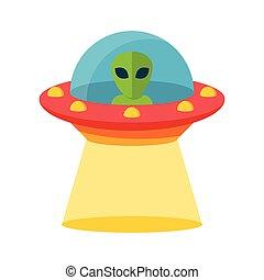 來路不明, 飛行, ufo, 對象