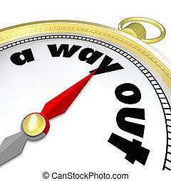 例証しなさい, 方向, 言葉, 金, 出なさい, 挑戦, 方法, コンパス, 見つけること, 問題, 困惑, 問題, ∥あるいは∥, 迷路, 困難