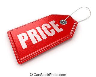 価格, ラベル