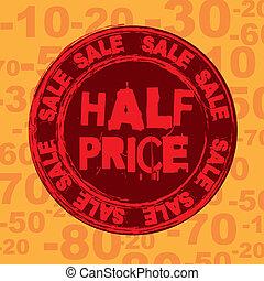 価格, 半分