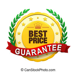 価格, guaranteed, 最も良く, ラベル