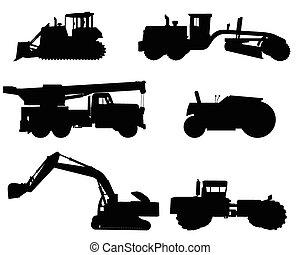 侧面影象, 建设机械