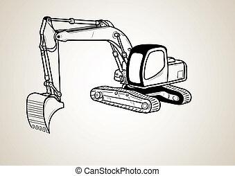侧面影象, 挖掘者