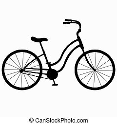 侧面影象, 自行车