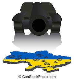 俄語, 烏克蘭, 侵略
