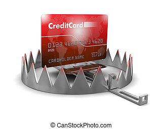 俘獲, 以及, 信用卡
