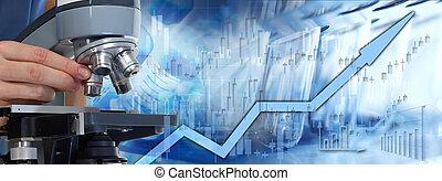 保健, 證券市場, 背景