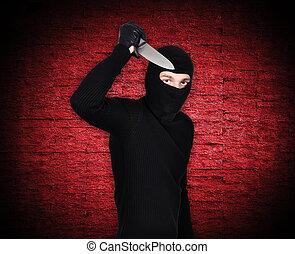 保有物, ナイフ, 人