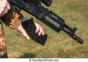 保有物, ライフル銃, 人