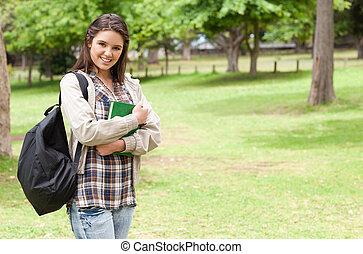保有物, 学生, 若い, 教科書