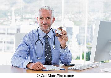保有物, 薬, 医者, ジャー