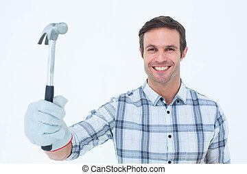 保有物, handyman, ハンマー, 幸せ