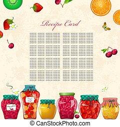 保温カバー, 維持, レシピ, 缶, 成果, ベリー, カード