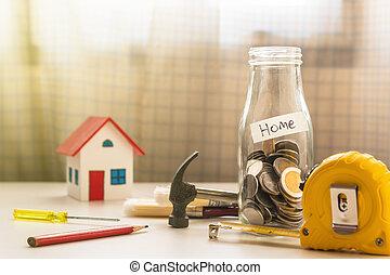 保留, 為, 新的家, 概念