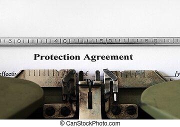 保護, 合意