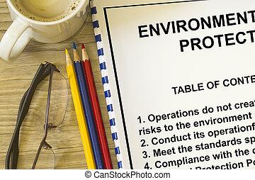 保護, 環境