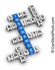 保険, クロスワードパズル