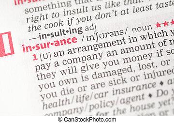 保険, 定義